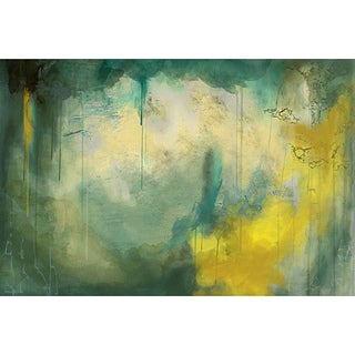 Maxwell Dickson Serenity Abstract Canvas Wall Art (As Is Item)