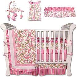 Trend Labs Paisley 7-piece Crib Bedding Set