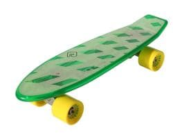 Atom Green 21-inch Mini Retroh Molded Skateboard