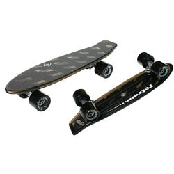 Atom Black 21-inch Mini Retroh Molded Skateboard - Thumbnail 0