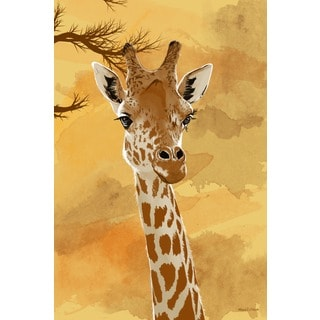 Maxwell Dickson 'Giraffe' Canvas Wall Art