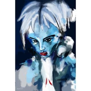 Maxwell Dickson 'Blue Girl' Canvas Wall Art