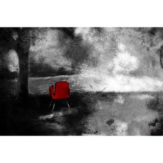 Maxwell Dickson 'Red Chair' Canvas Wall Art