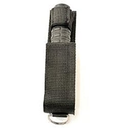 18-inch Heavy-duty Collapsible Solid Steel Stick with Sheath - Thumbnail 1