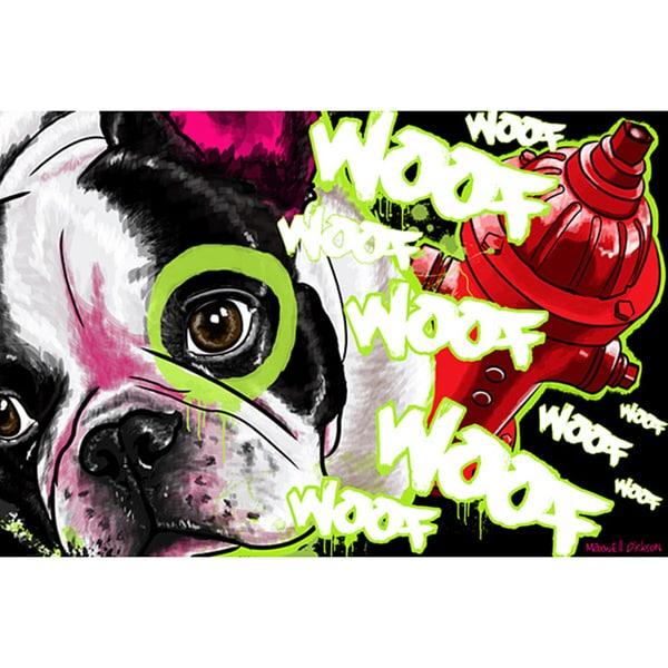 Maxwell Dickson 'French Bull Dog' Canvas Wall Art