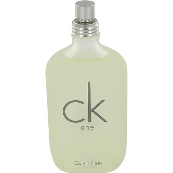 Calvin Klein 'CK One' Unisex 6.7-ounce Eau de Toilette Spray (Tester)