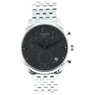 Tissot Men's T0636171106700 'Tradition' Stainless Steel Bracelet Chronograph Watch