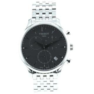 Tissot Men's T0636171106700 'Tradition' Stainless Steel Bracelet Chronograph Watch
