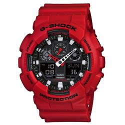 Casio Men's 'G-shock' Resin Analog-digital Watch