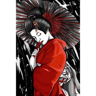 Maxwell Dickson 'Geisha' Canvas Wall Art