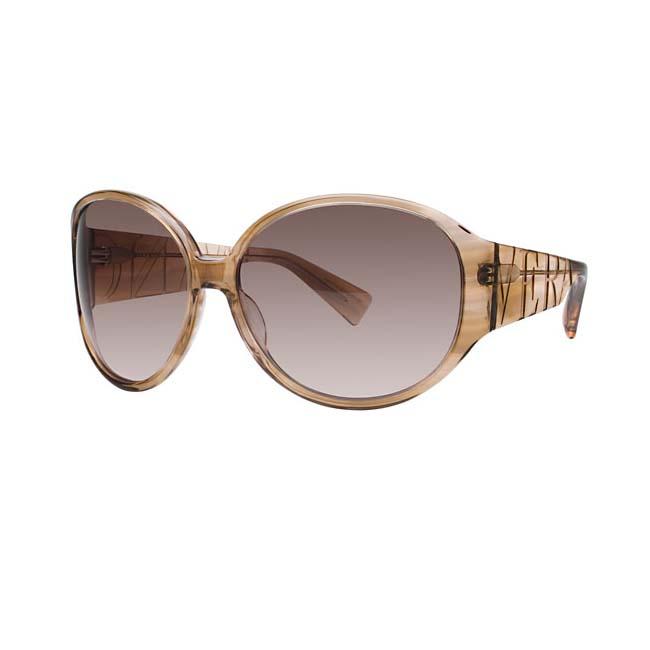Vera Wang Women's Latte Silk Plastic Sunglasses