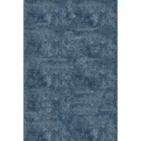 Momeni Luster Shag Light Blue Hand-Tufted Shag Rug - 8' x 10'