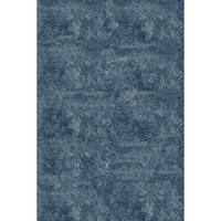 Momeni Luster Shag Light Blue Hand-Tufted Shag Rug - 3' x 5'