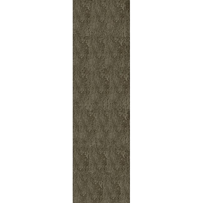 Momeni Luster Shag Grey Hand-Tufted Shag Runner Rug - 2'3 X 8'