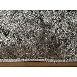 Momeni Luster Shag Grey Hand-Tufted Shag Runner Rug (2'3 X 8') - Thumbnail 1