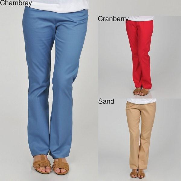 Plus Size Twill Pants
