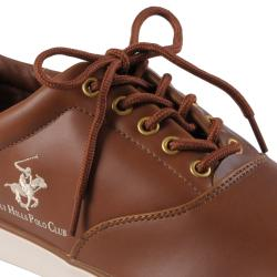 Beverly Hills Polo Men's Smooth Finish Lace-up Sneakers - Thumbnail 2