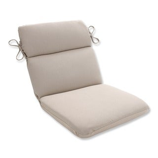 Pillow Perfect Outdoor Beige Round Chair Cushion