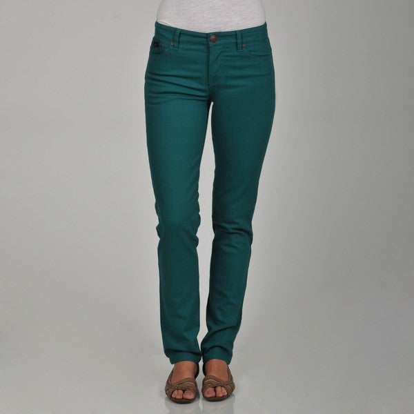 Women's Turquoise Skinny Denim Jeans - Free Shipping Today ...