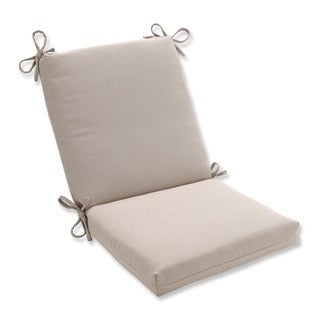 Pillow Perfect Outdoor Beige Solid Square Chair Cushion