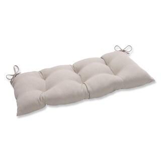 Pillow Perfect Outdoor/ Indoor Solar Linen Swing/ Bench Cushion