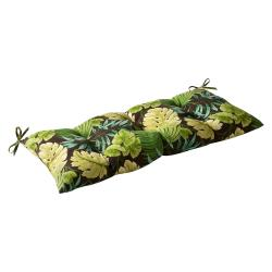 Pillow Perfect Outdoor/ Indoor Tropique Green Swing/ Bench Cushion