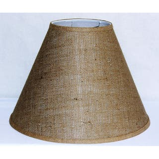 Hardwired table lamps for less overstock crown lighting tan burlap empire hardback large lampshade greentooth Images