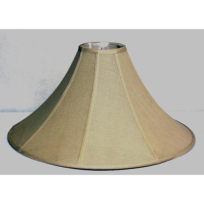 Beige Linen Coolie Large Shade