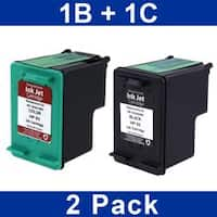 Insten Color Remanufactured Ink Cartridge Replacement for HP C9361W/ 93