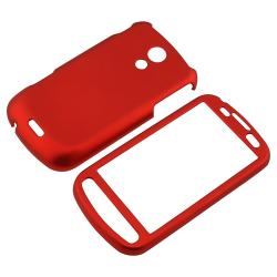 Red Rubber-coated Case for Samsung Epic 4G D700