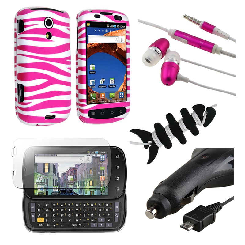 BasAcc Case/ Protector/ Charger/ Headset for Samsung Epic 4G D700