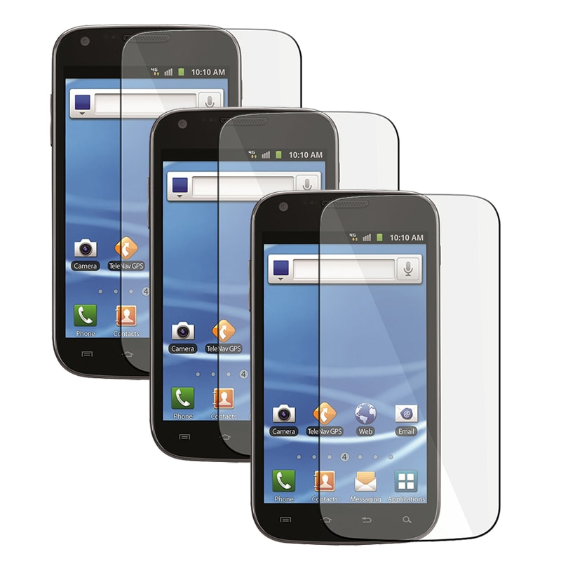 LCD Screen Protector for Samsung Galaxy S II T989 (Pack of 3)