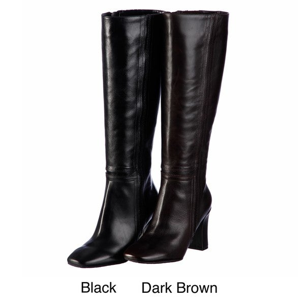 Rockport Women's 'Helena' Leather Knee-high Boots FINAL SALE ...