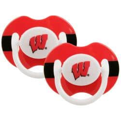 Wisconsin Badgers Pacifiers (Pack of 2)|https://ak1.ostkcdn.com/images/products/6309509/78/155/Wisconsin-Badgers-Pacifiers-Pack-of-2-P13938103.jpg?impolicy=medium