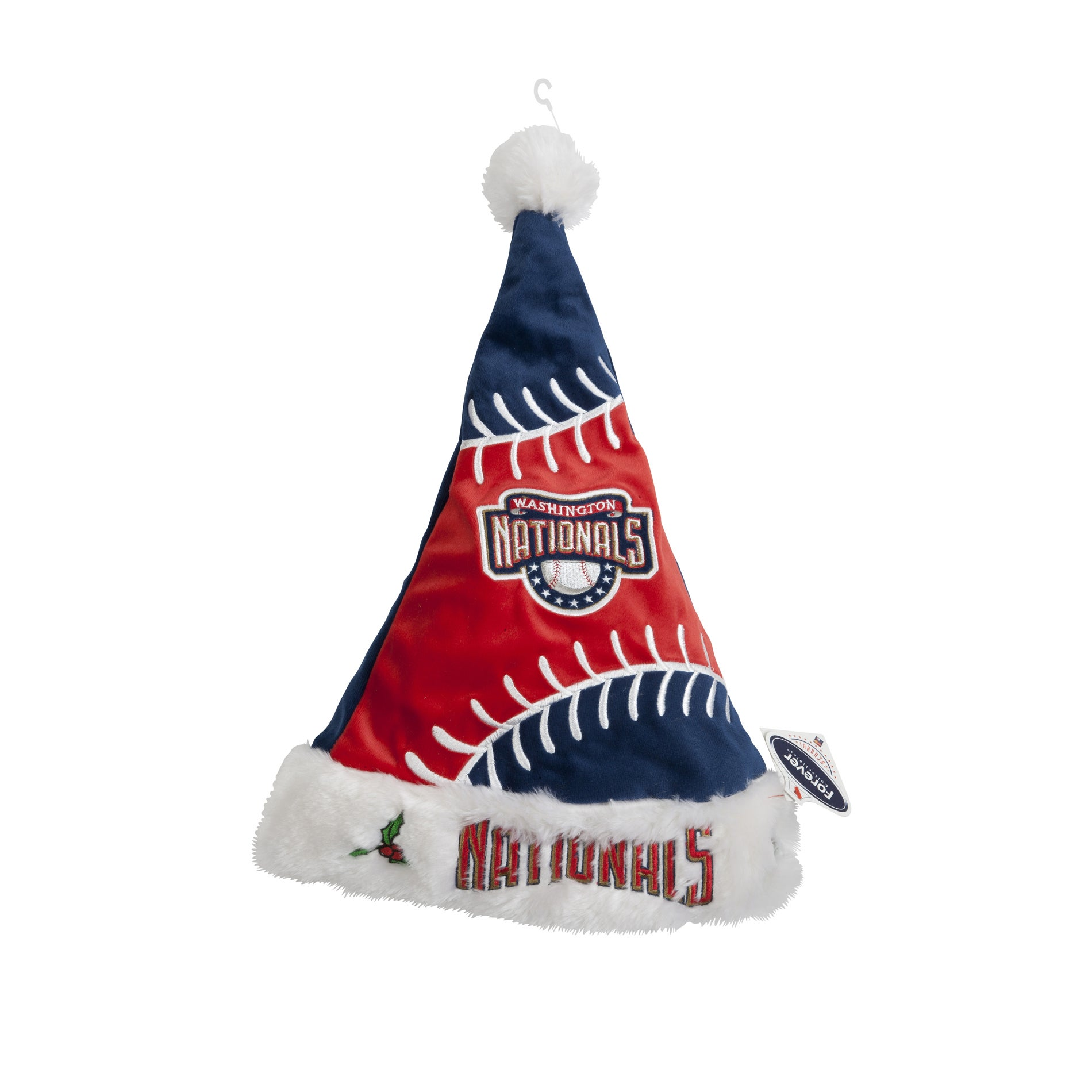 Washington Nationals Polyester Santa Hat