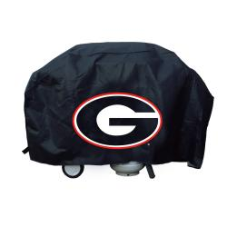 Georgia Bulldogs Deluxe Grill Cover - Thumbnail 0