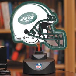 New York Jets Neon Helmet Lamp - Thumbnail 0