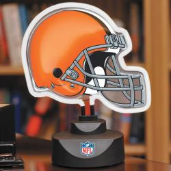 Cleveland Browns Neon Helmet Lamp - Thumbnail 0