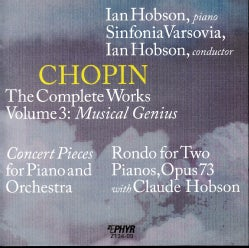 Frederic Chopin - The Complete Works, Vol. 3