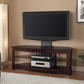 Espresso Finish 60-inch TV Stand with Removable Mount