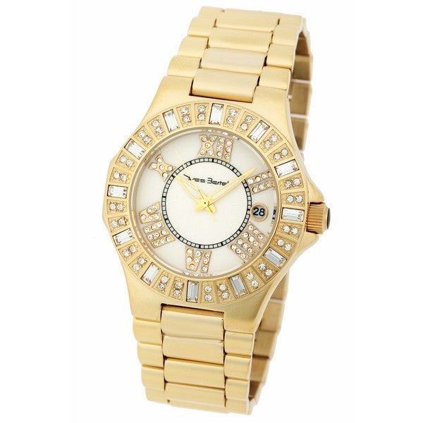 Yves Bertelin Paris Women's Goldtone Bracelet Watch