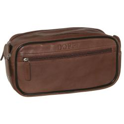 Dopp Milan Soft Sided Multi Zip Travel Toiletry Bag - Thumbnail 1