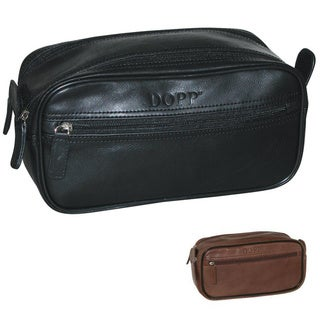 Dopp Milan Soft Sided Multi Zip Travel Toiletry Bag (2 options available)