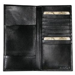 Buxton Verona Polished-cowhide Lined-interior Passport Folio