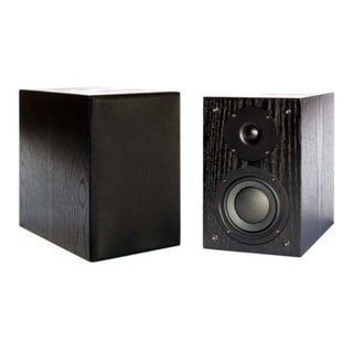 New Wave Audio BK-52 50 W RMS Speaker - 2-way - Black Oak