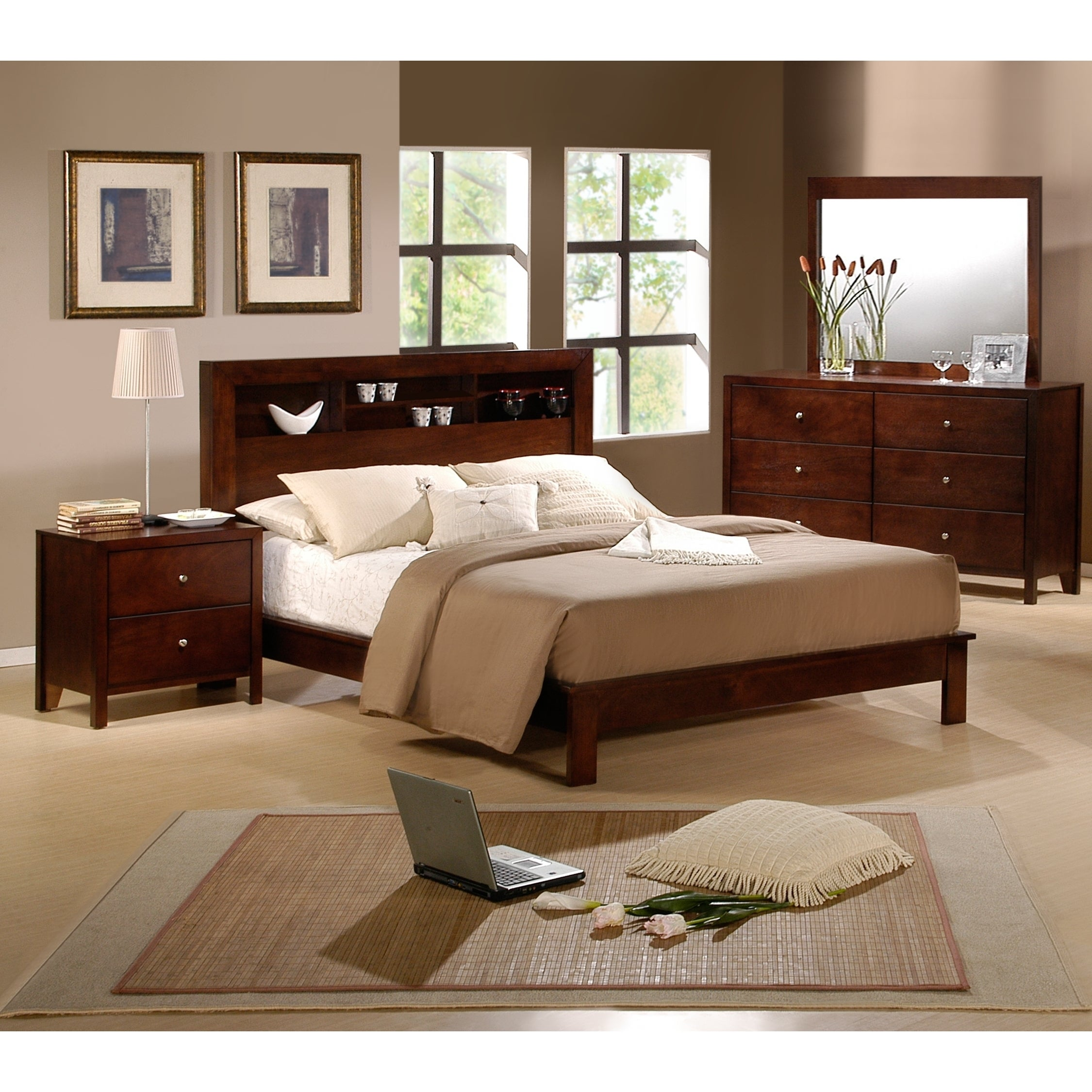 Shop picket house sonata 5 piece queen size bedroom set - Queen size bedroom furniture sets ...