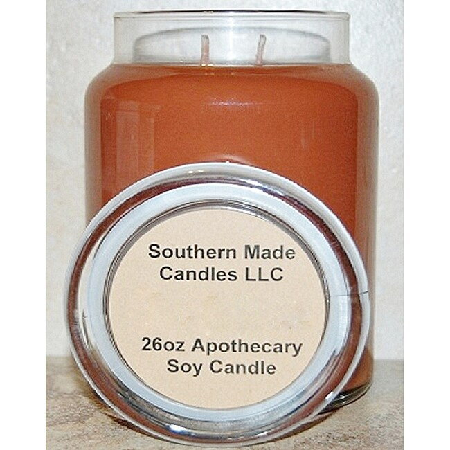 Southern Made Candles Soy 26-ounce Gingerbread Apothecary Candle