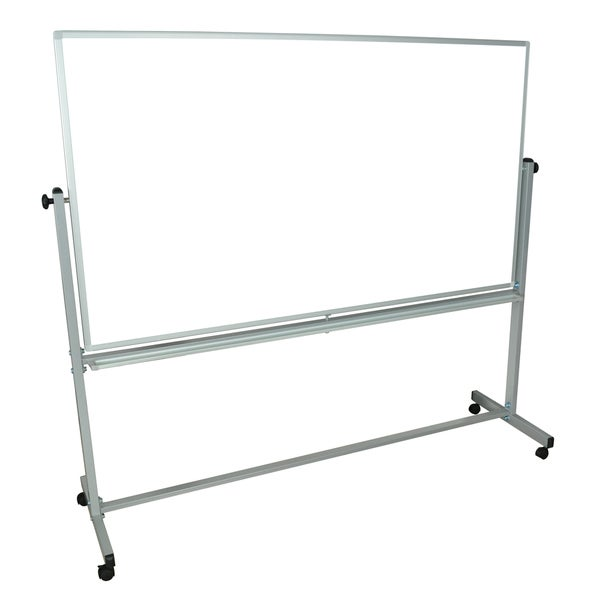 Luxor Reversible Magnetic Mobile 72 x 40-inch Whiteboard/ Whiteboard