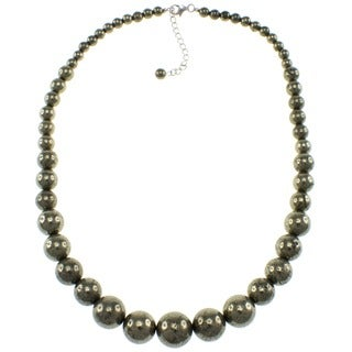 Pearlz Ocean Pyrite Journey Necklace