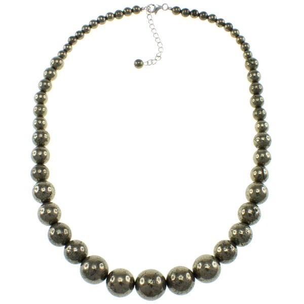 Pearlz Ocean Pyrite Journey Necklace